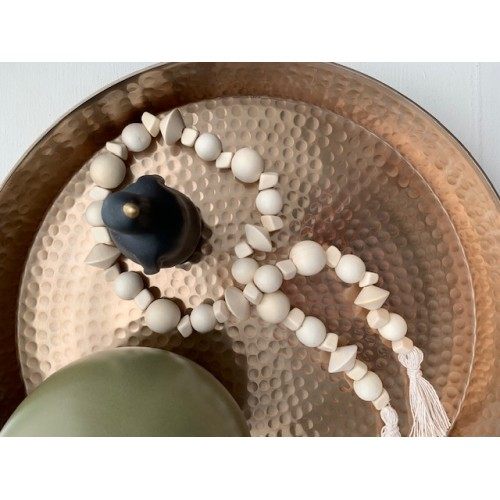 """Wooden Bead String 28"""""""
